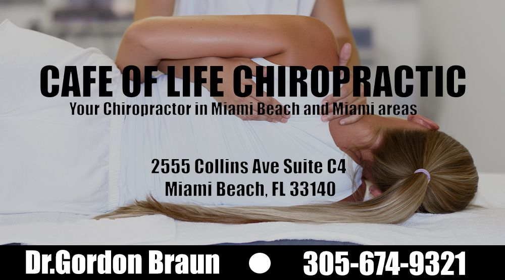 Cafe of life Chiropractor Miami Beach Glasnik