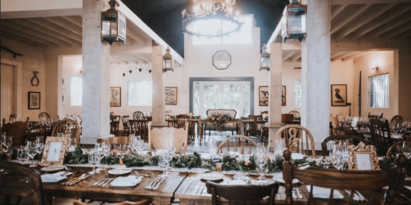 Catering Walton House Outdoor Wedding Venue In South Dade Miami