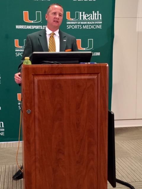 "Miami AD Blake James will ""evaluate'' if Miami area could ..."