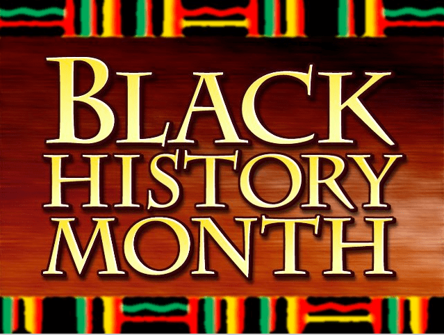 History Month Logo Black