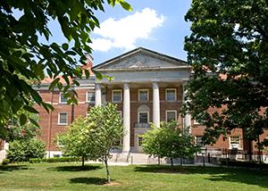 Outside of Ogden Hall