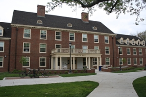 Outside view of Collins Hall