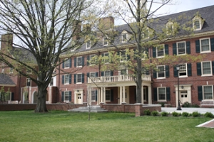 Image ofoutside of Symmes Hall