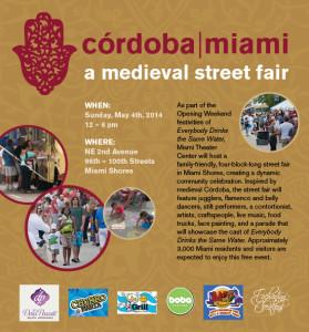 Street Fair flyer