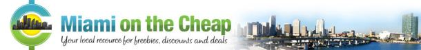Miami on the Cheap Deals Discounts Free Things To Do