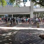 Free monthly bicycle rides