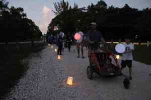 Free Ludlam Lights walk