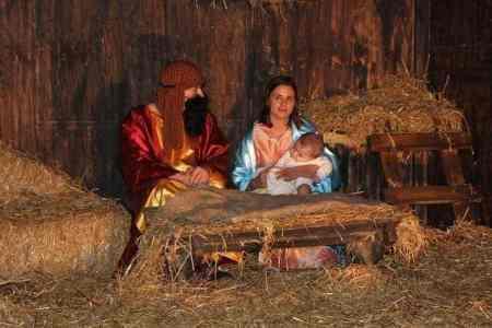 Living Nativity in Miami Shores