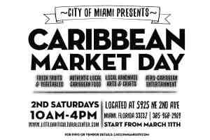Caribbean Market Day