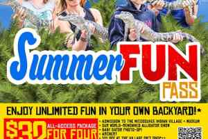 Summer All-Access Pass for 4 at Miccosukee