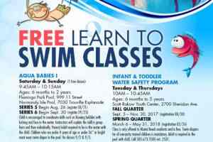 Free learn to swim classes