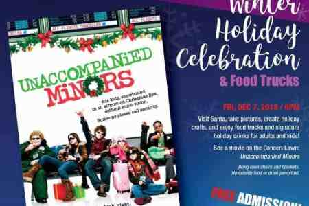 Free winter holiday celebration at South Miami-Dade Cultural Arts Center