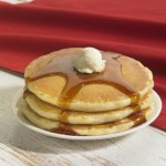 Denny's serves all-you-can-eat pancakes for $4 every day