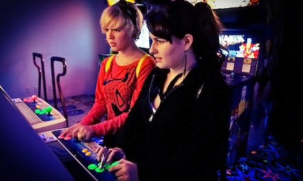 Three vouchers for Tokens at Arcade Odyssey (Up to 33% Off). Two Options Available.