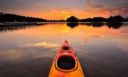 Kayak Rental, Sunset Kayak Tour, SUP Rental, or SUP Yoga at BG Oleta River Outdoor Center (Up to 35% Off)