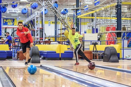 One or Two Hours of Bowling for Up to Five with Shoe Rental and Pizza at Planet Air Sports (Up to 61% Off)