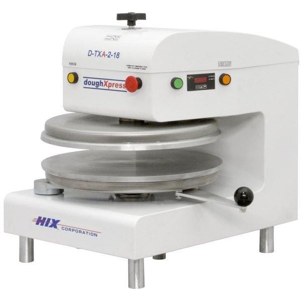 DoughXpress D-TXA-2-18-WH Automático Tortilla Pizza Press 18 – Branco, 220V