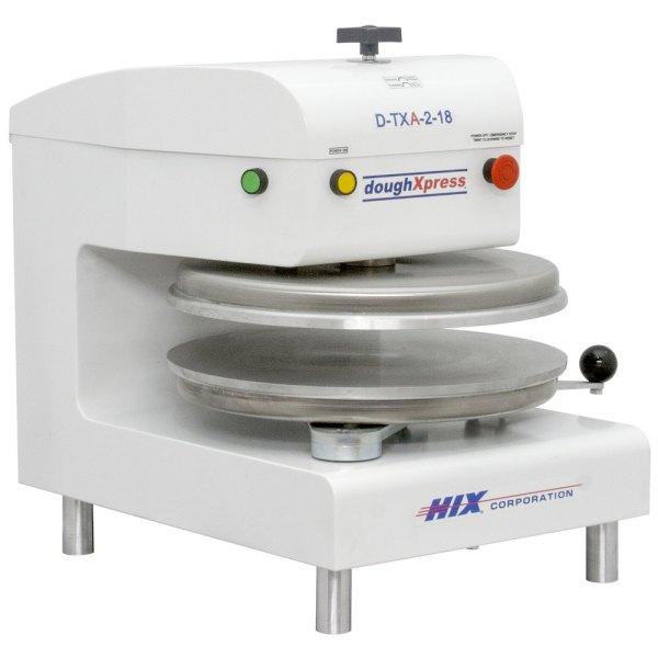 DoughXpress D-TXA-2-18-WH Automático Tortilla Pizza Press 18 – Branco, 220V2