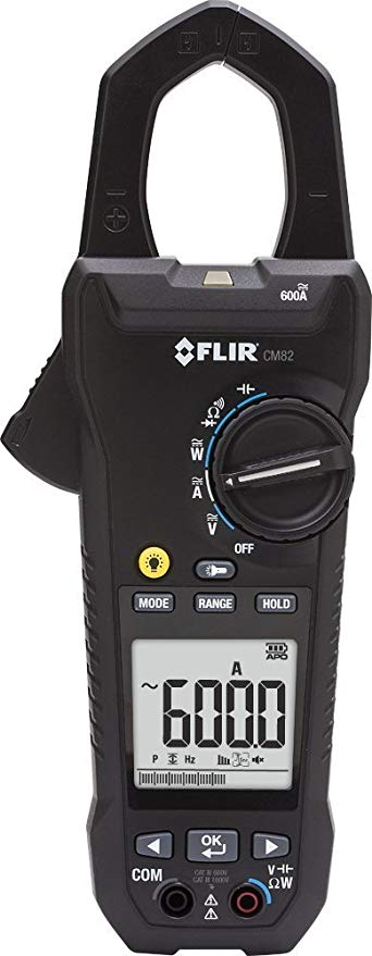 FLIR CM82 Power Clamp Meter 600A with VFD Filter