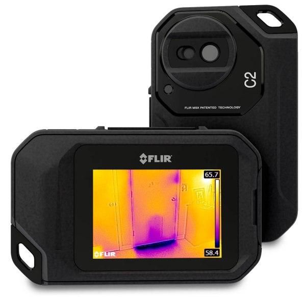 Nova FLIR C2 Câmera Térmica Profissional