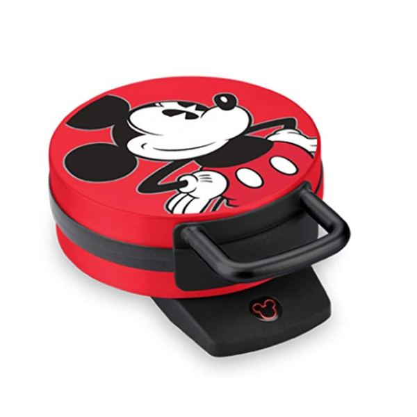 Disney DCM-12 Mickey Mouse Waffle Maker, Red