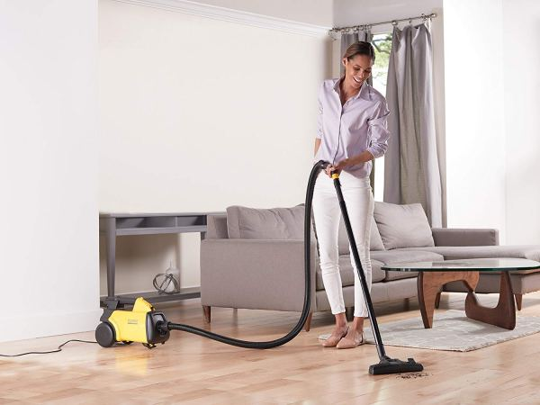 Eureka Mighty Mite Corded Canister Vacuum Cleaner, 3670G4