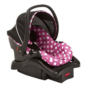 Bebe Conforto Disney Light 'n Comfy Luxe Infant Car Seat, Minnie Dot