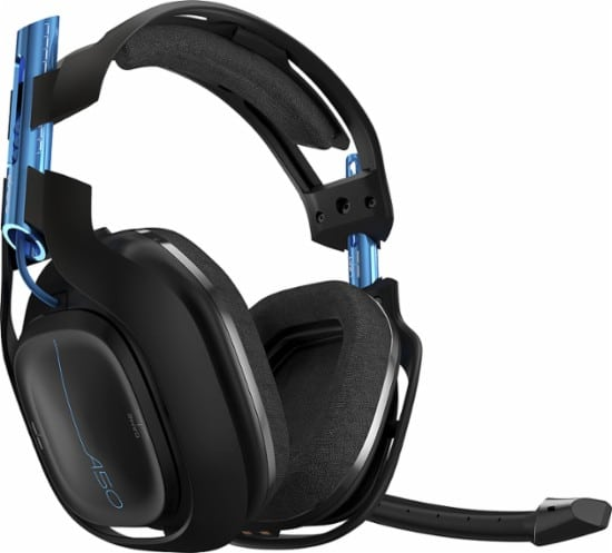 ASTRO Gaming A50 Wireless Dolby Gaming Headset Black/Blue PlayStation 4 + PC