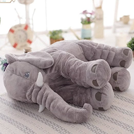 Almofada Elefante Soft Elephant Sleep Pillow 8