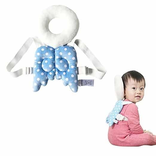 Almofada-de-segurança-infantil-ajustável-para-bebês-Protetor-de-cabeça-e-ombro-KuYou-BLUE-