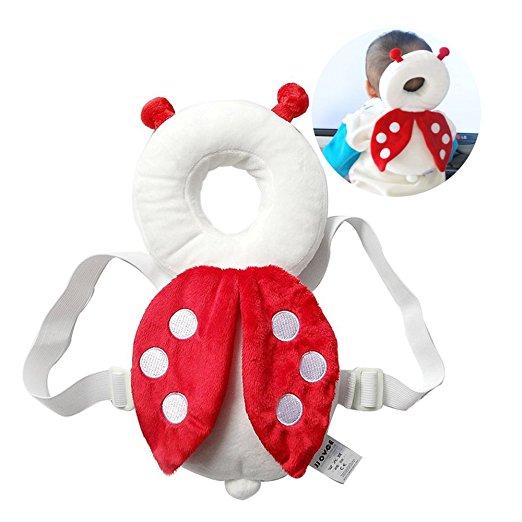 Almofada de segurança infantil ajustável para bebês Protetor de cabeça e ombro KuYou 6