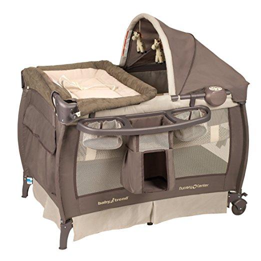Baby Trend Deluxe Nursery Center, Hudson