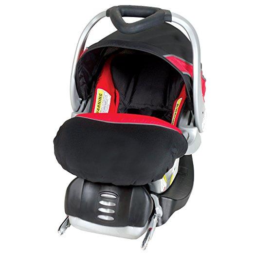 Cadeirinha bebê conforto Baby Trend Flex Loc Car Seat, Picante