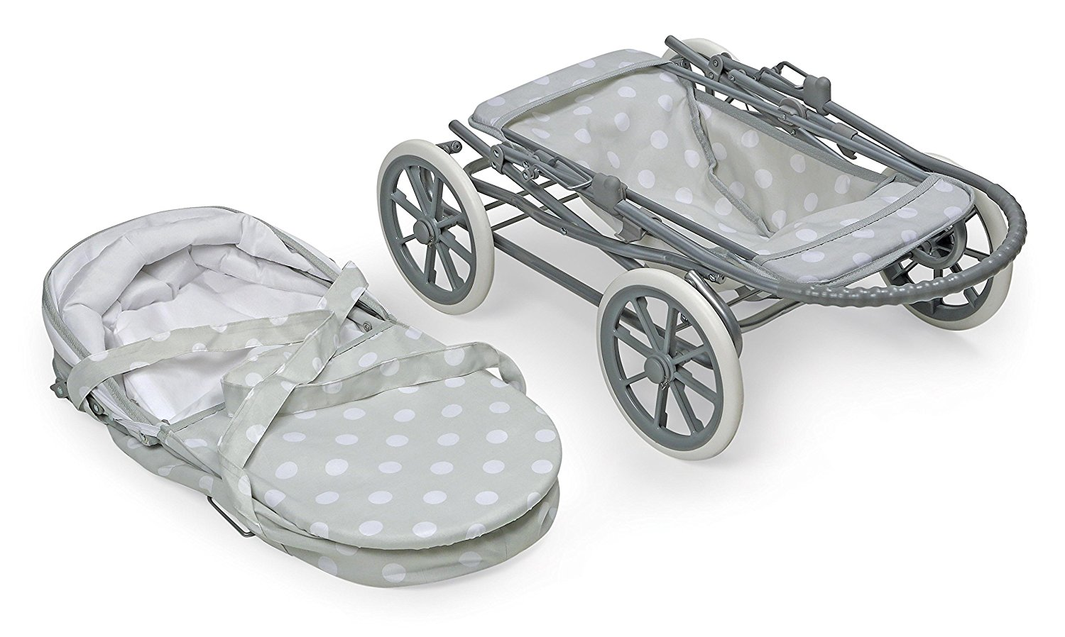 Badger Basket Just Like Mommy 3-in-1 Doll Pram6