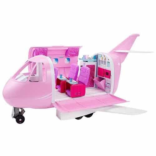 Barbie Avião Pink Passport/vacation Jet Glamour
