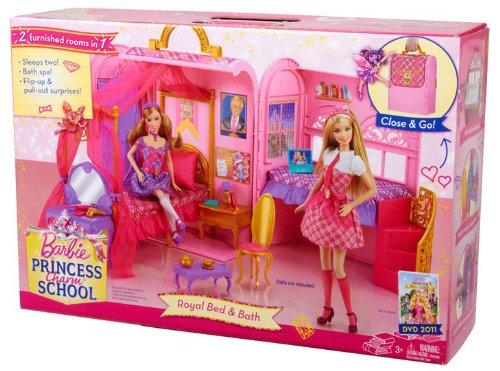 Barbie Princess Charm School Princess Playset5