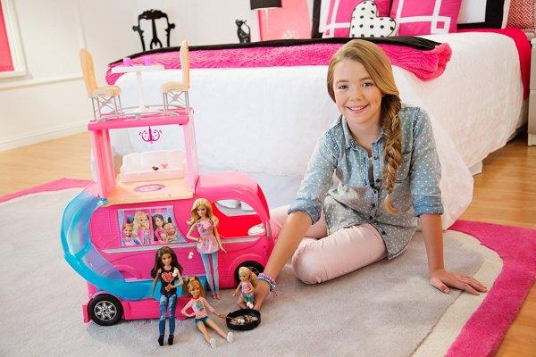 Barbie Veículo de Acampamento Pop-Up Camper Vehicle6