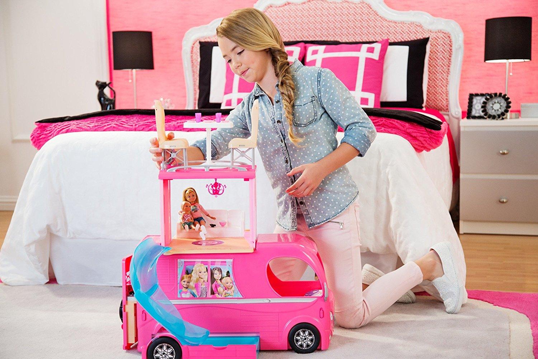 Barbie Veículo de Acampamento Pop-Up Camper Vehicle8