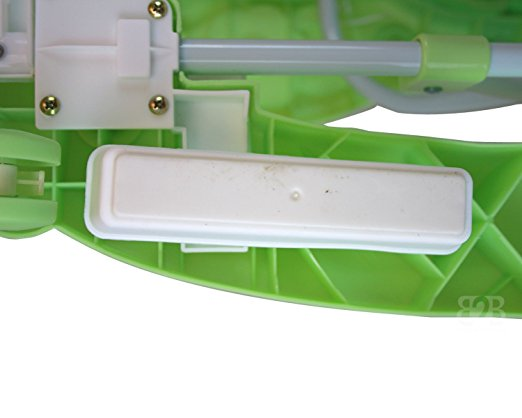 Best Safety 3 in 1 Walker, Rocker, Parent push handle, and emergency stair stopper (Bear) (Green) 6