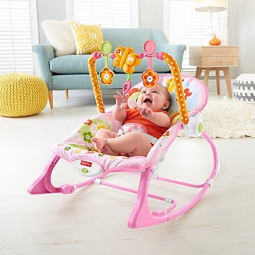 Cadeira Balanço Minha Infância Fisher Price Y4544 Meninas 3