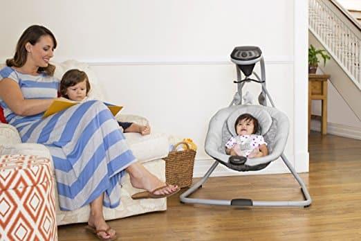 Cadeira de Balanço Graco Simple Sway Baby Swing, Kyte 5