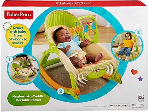 Cadeirinha de Balanço Fisher-Price Newborn-to-Toddler 5