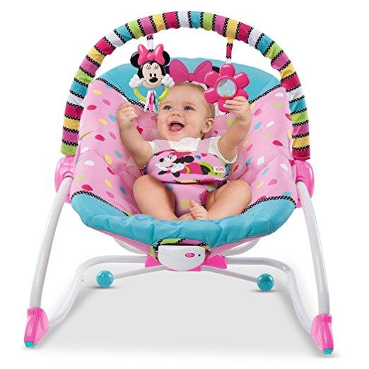 Cadeirinha de balanço Disney Baby To Big Kid Rocking Seat Minnie Peek A Boo 3