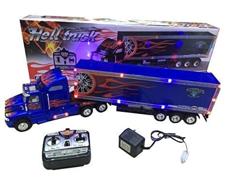 Caminhão Com Controle Remoto Super Duty com luz e música