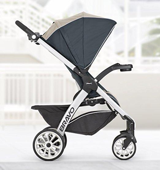 dd2e750bd Carrinho de bebê e Bebê conforto Chicco Bravo Travel System - Miami ...