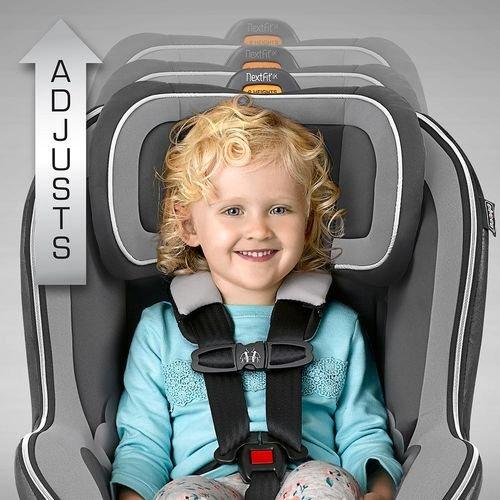 Chicco NextFit iX Zip Convertible Car Seat, Spectrum 7