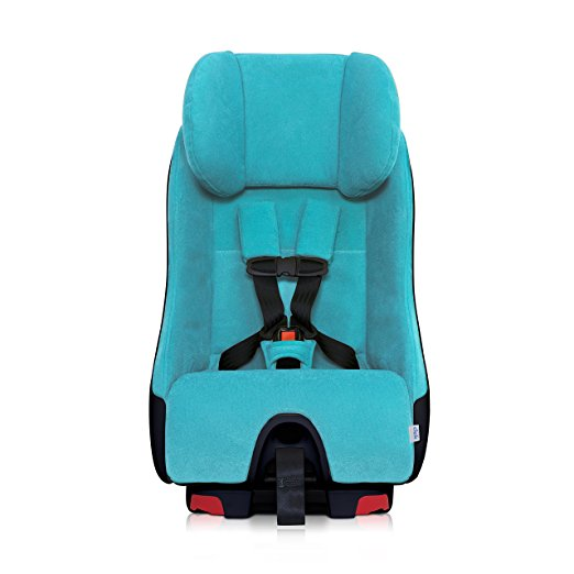 Clek Foonf Rigid Latch Convertible Baby and Toddler Car Seat, Rear and Forward Facing with Anti Rebound Bar,Capri 2