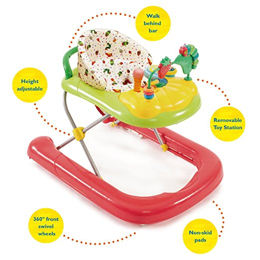 Creative Baby The Very Hungry Caterpillar 2-in-1 Walker 4