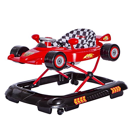 Dream On Me Victory Lane Activity Walker, Red 2