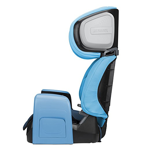 Evenflo Spectrum 2-in-1 Booster Car Seat, Bubbly Blue2